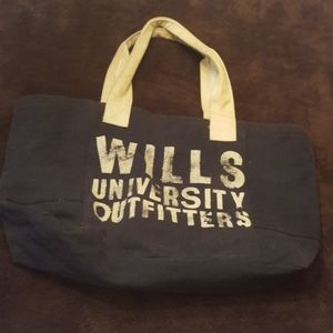 Jack Wills canvas tote.